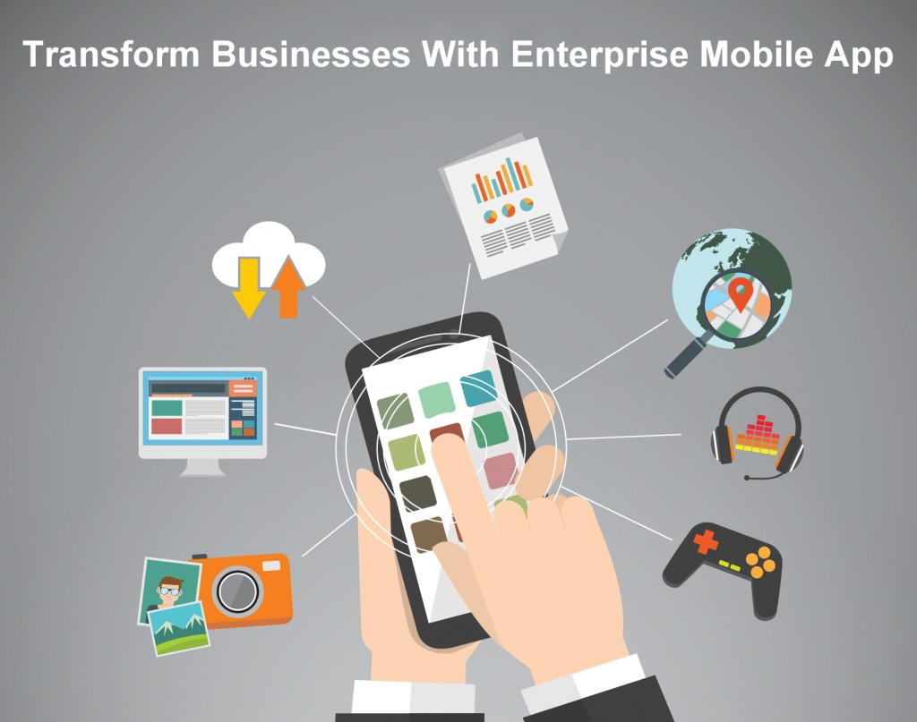 Transform business with enterprise mobile app