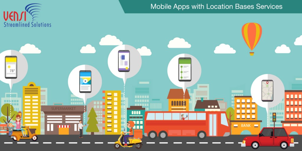 Location Based Services are Playing a Crucial role in Mobile App Development