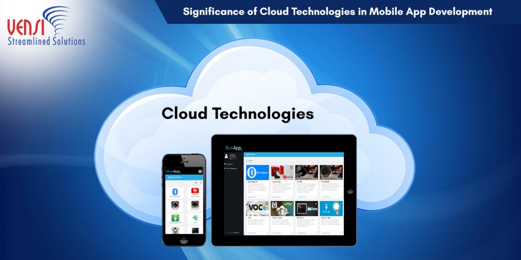 How Cloud Technologies are Enabling Mobile Application Development