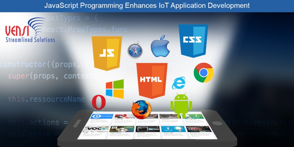 Why JavaScript is the Top Programming Languages for Building IoT Applications