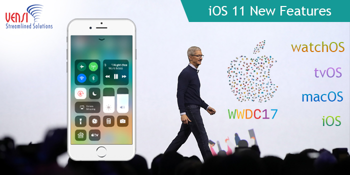 Apple's new Operating System Features in iOS 11